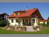 Landhaus Rückansicht - Ökohaus