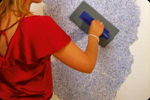 Tapete fürs Bad – Flüssigtapete sorgt für mehr Klarheit ...