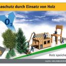 Holzverwendung ist wirksamer Klimaschutz