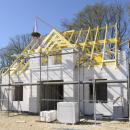 Nachhaltigkeit beim Baustoff: Saubere Lösung mit einschaliger Wand