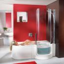 Badewanne und Dusche in einem - Ihr Badezimmer wird zur kleinen Wellnessoase
