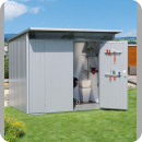 Optimal aufbewahrt – Designer-Gartenhaus bietet Stauraum mit Stil