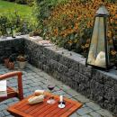 Geschickt kombiniert - Mit Stein und Holz den Garten verschönern
