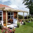 Terrasse unter Dach und Fach