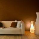 Farbige Baumwolle für die Wand