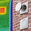 Energiesparen leicht gemacht - Mauerkasten statt Ausblasgitter spart massiv Energie