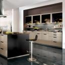 Küchen 2009 - auch die Optik zählt: Trend zu hochglänzenden Fronten