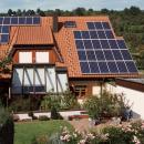 Im Winter wie im Sommer - Investition Solaranlage wird tatkräftig unterstützt