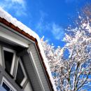Bei Frost und Schnee das Haus regelmäßig kontrollieren